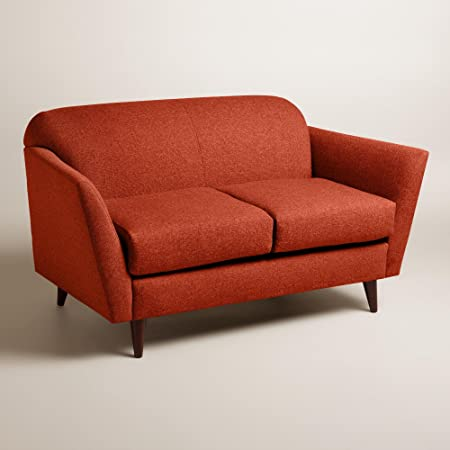 Chunky Woven Jorna Upholstered Love Seat - World Market