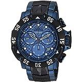 Invicta Men's 'Subaqua' Quartz Stainless Steel Casual Watch, Color:Black (Model: 23807)