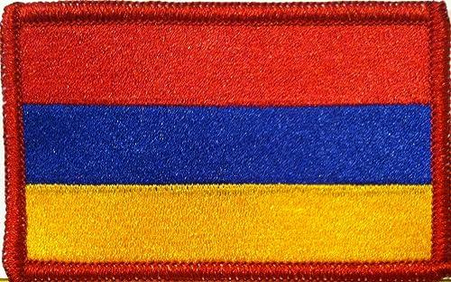 Armenian Flag Badge
