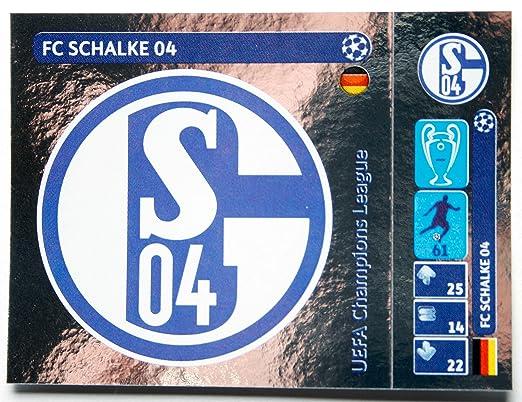Panini UEFA Champions League Sticker > Logo FC Schalke 04 > Number 30