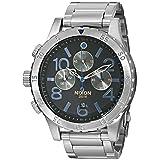 Nixon Men's A4861529 48-20 Chrono Watch (Color: Midnight GT, Tamaño: One Size)