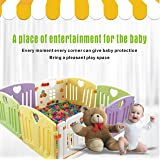 Baby Playpen Kids Activity Centre Safety Play Yard Home Indoor Outdoor New Pen (Multi) (Color: multi)