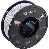 AmazonBasics PETG 3D Printer Filament, 1.75mm, Translucent, 1 kg Spool (Color: Translucent, Tamaño: 1.75mm)