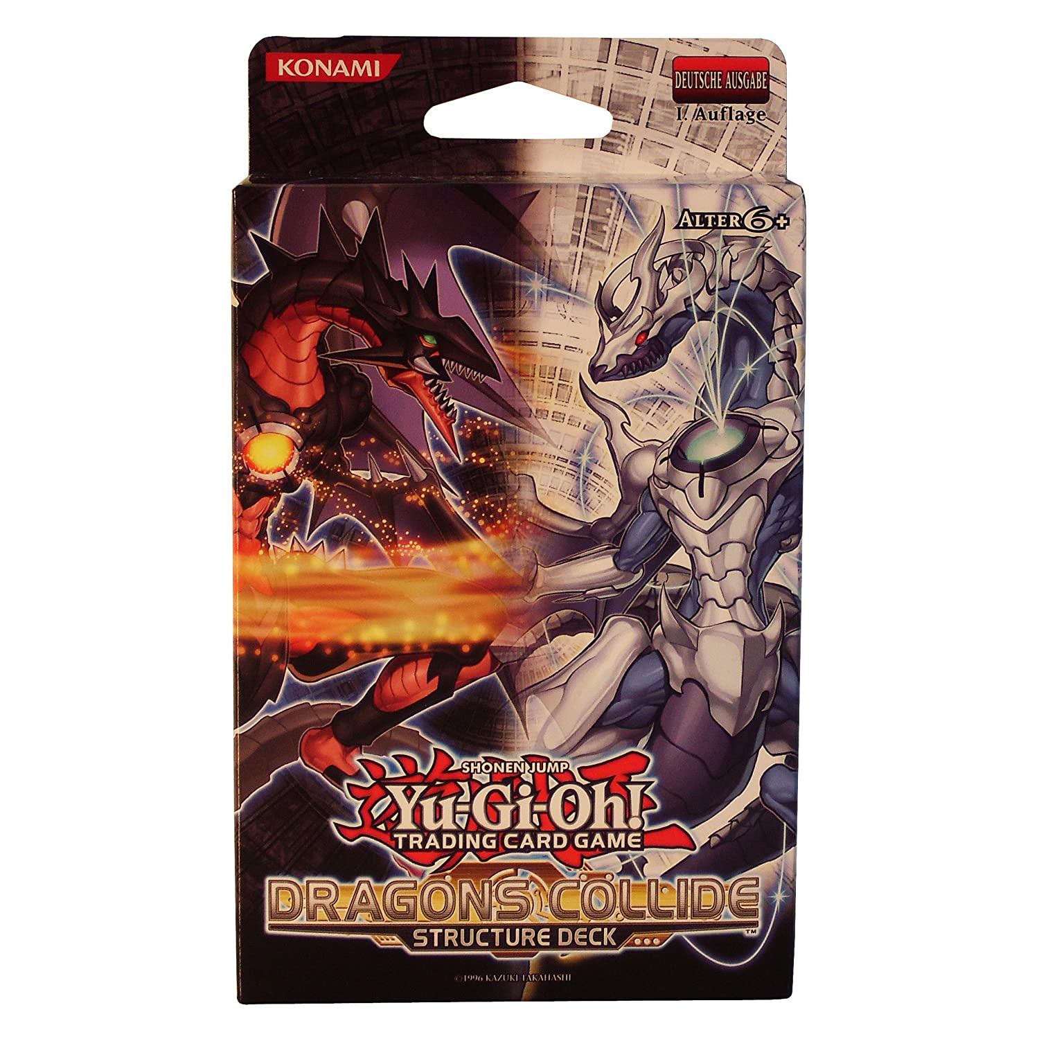 Die Neusten Yugioh Decks: Yu-Gi-Oh! Structure Deck Dragons Collide, Deutsch
