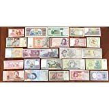 all World 25 different Banknotes (Banknotes for collectors)