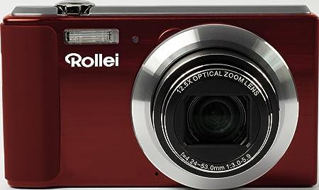 Rollei Powerflex 800 Bundle Appareil photo numérique 14 Mpix Rouge