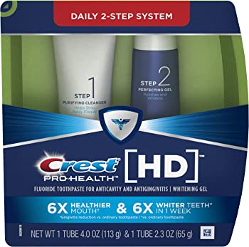 Crest Pro-Health Two-Step Toothpaste