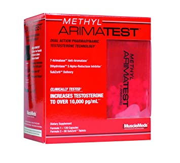 Muscle Meds Methyl Arimatest 60 Kapseln Testo Booster