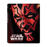 Star Wars: Phantom Menace (Limited Edition Steel Book) [Blu-ray]