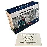 Ruby Electronics DT-6605 Digital Insulation Tester MegOhmMeter CAT IV 5000V 60 Giga Ohm Meter (Color: Drak gray over Yellow)