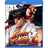 Street Fighter II The Animated Movie Blu Ray [Blu-ray]