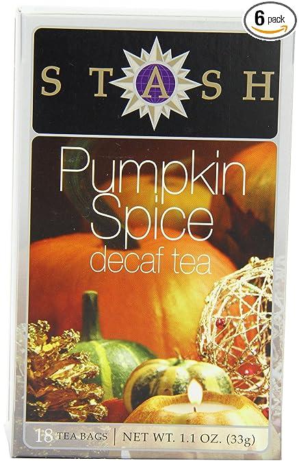 Pumpkin Spice Tea Stash Tea Decaf Pumpkin Spice