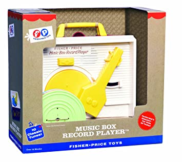 Amazon.com: Fisher Price Classic Record Player: Toys & Games