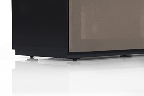 Sonorous STD 260T-BLK-OLV-BS Studio TV-Lowboard fur 177,8 cm (70 Zoll) Fernseher schwarz/olive