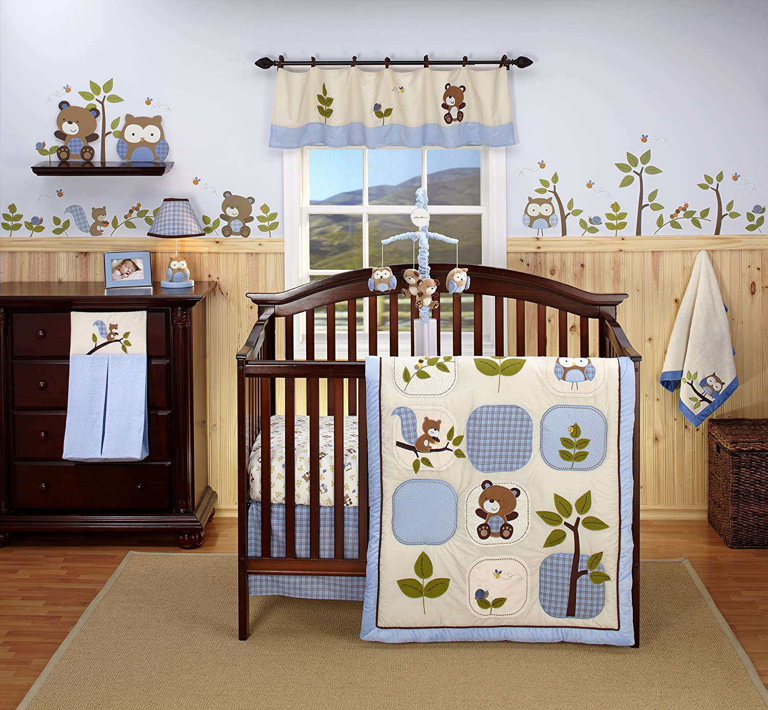 Eddie Bauer Owl Creek 4-Piece Crib Bedding