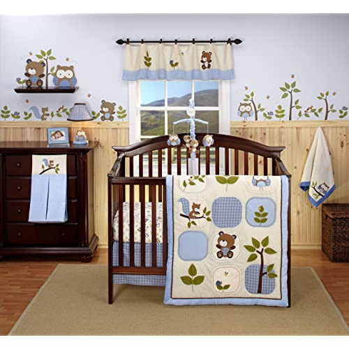 Eddie Bauer Owl Creek 4 Piece Crib Bedding Set (Discontinued by Manufacturer)