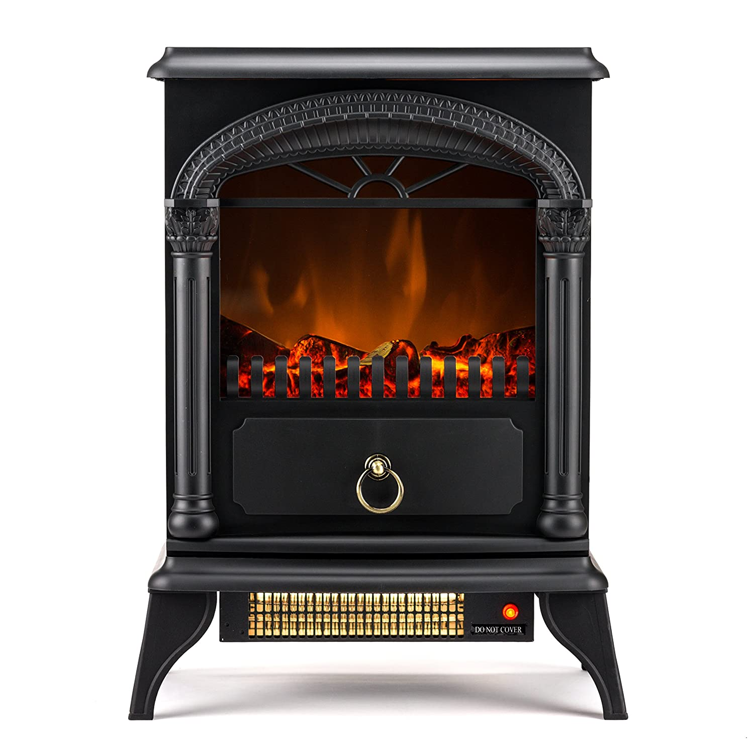 Large 1500w Heat Adjustable Electric Portable Fireplace Heater Hamilton Indoor Ebay