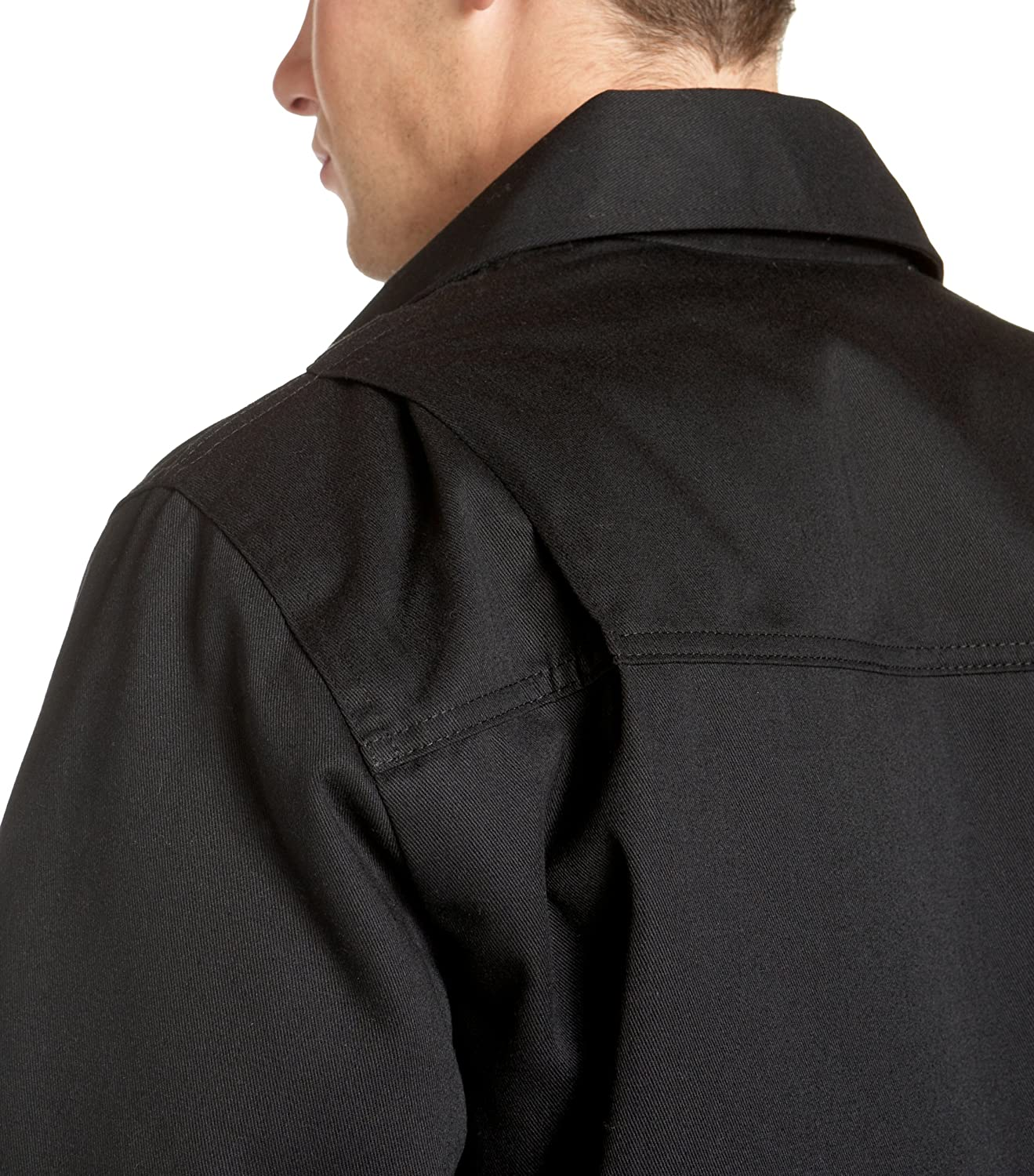 Dickies Men's Big Hip Length Twill Jacket