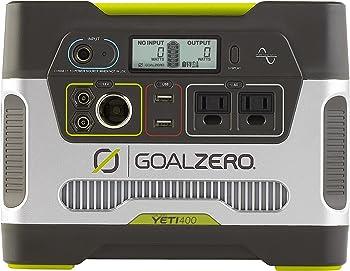 Goal Zero Yeti 400 300 Watt Solar Battery Portable Generator