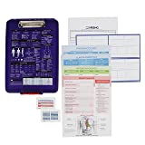 Nursing Clipboard + Toolbox Combo (Nursing Student Gifts and New Nurses, Storage Clipboard, Cheat Sheets, NCLEX Study Material and Drug Cards) by NRSNG
