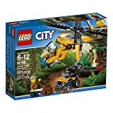 LEGO City Jungle Explorers Jungle Cargo Helicopter 60158 Building Kit (201 Piece)