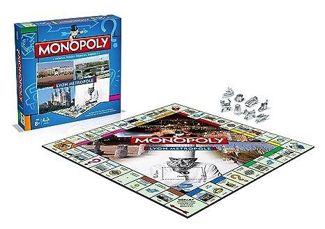 Winning Moves - 0087 - Jeu De Société - Monopoly - Lyon Métropole 2015