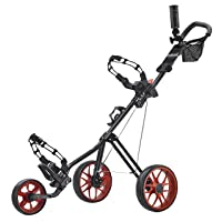 Caddy Tek Super Lite Deluxe Golf Push Cart