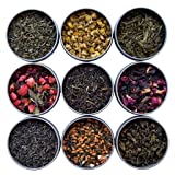 Heavenly Tea Leaves Tea Sampler (9 Flavor Variety Pack)