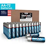 Rayovac AA Batteries, Alkaline Double A Batteries (72 Battery Count) (Tamaño: 72 Count)