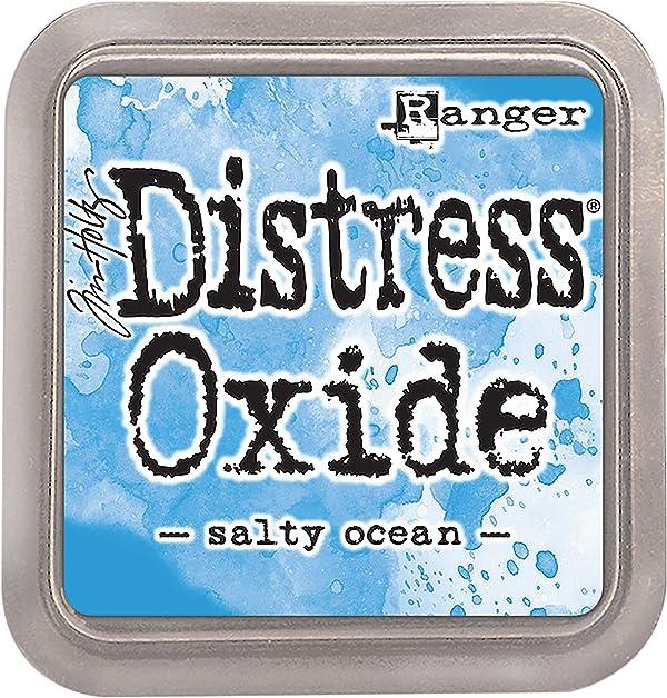 Ranger Ink Pad Salty Ocean THoltz Distress Oxides (Tamaño: 1 Pack)