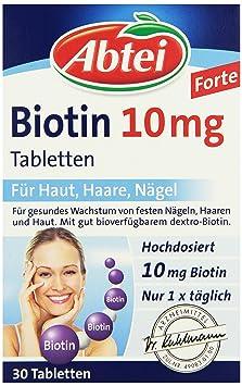 Hot Hot Hot Sale Abtei Biotin 10 Mg 30 Stã¼ck 1 Er Pack 1