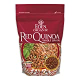 Eden Organic Red Quinoa, Whole Grain, 16-Ounce Pouches (Pack of 4)