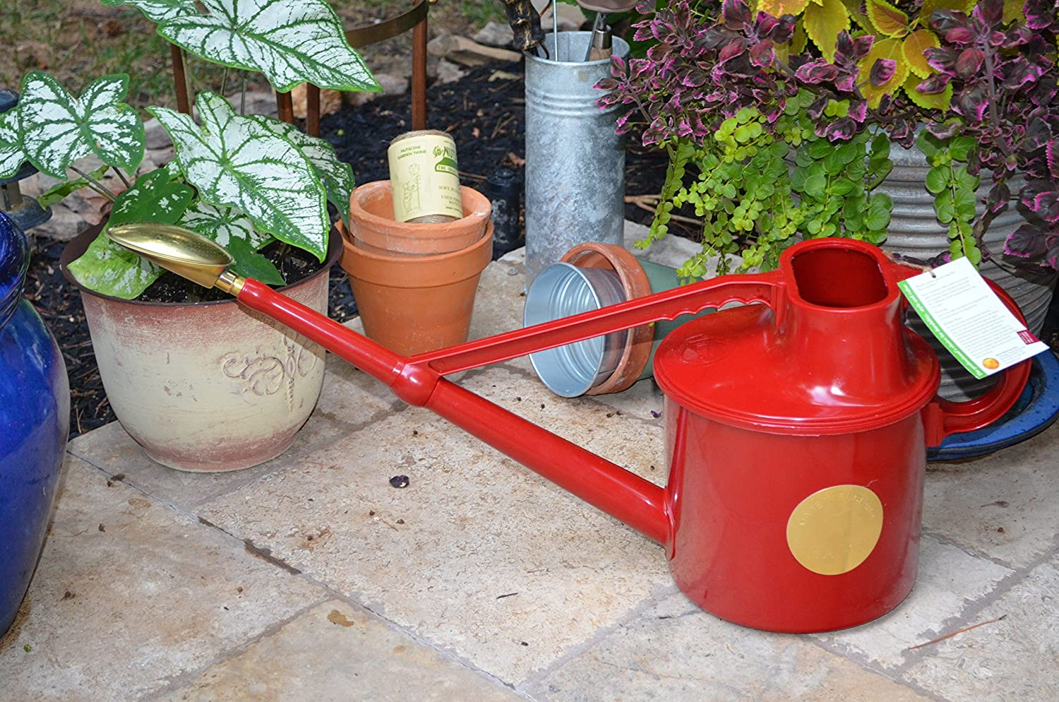 Haws V106 Deluxe Plastic Watering Can 1 8 Gallon 7 Liter