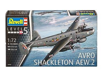 Revell - 04920 - Maquette - Avro Shackleton Mk. 2 AEW - Noir - Échelle 1/72 - 193 pièces