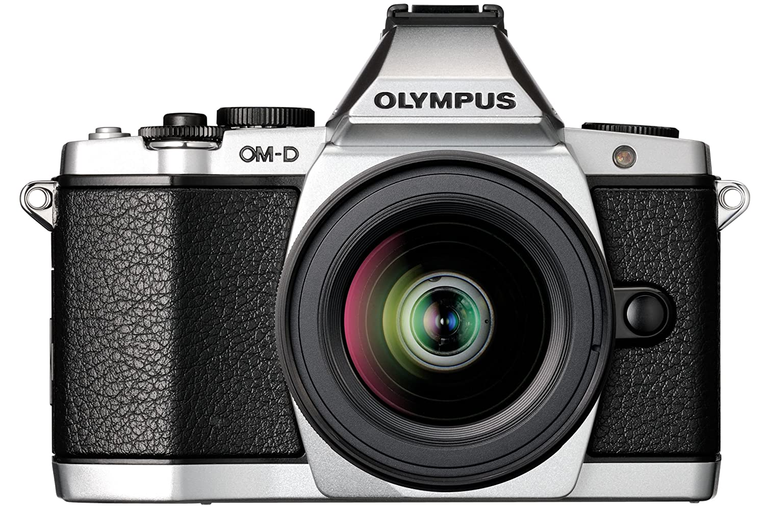 Digital Cameras OLYMPUS EM5 SILVER 16MPIXELS KIT 12-50MM