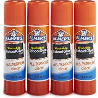 4-Pack Elmer's All Purpose School Glue Sticks,0.24-ounce sticks