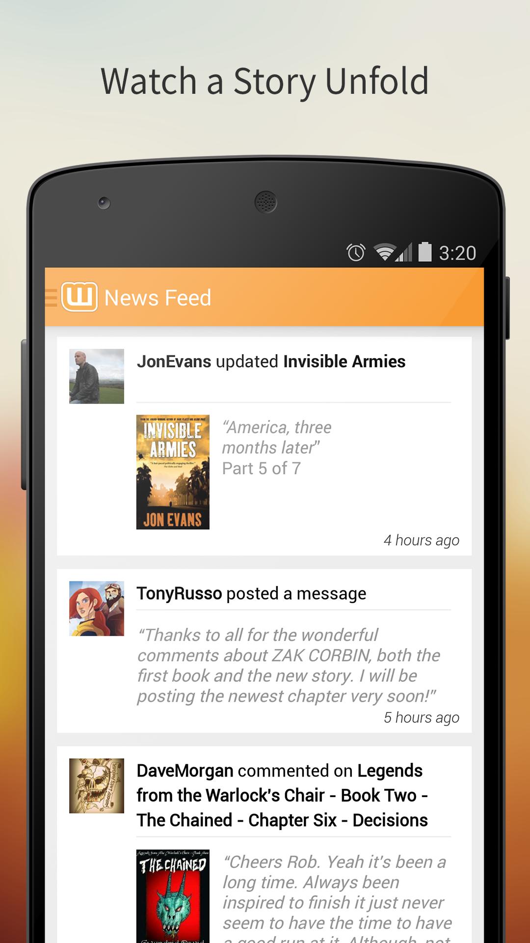 Amazon.com: Wattpad - Free Books and eBook Reader - Read Fiction