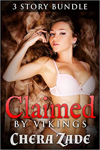 Claimed By Vikings: 3 Story Bundle (First Time Historical Group Menage)