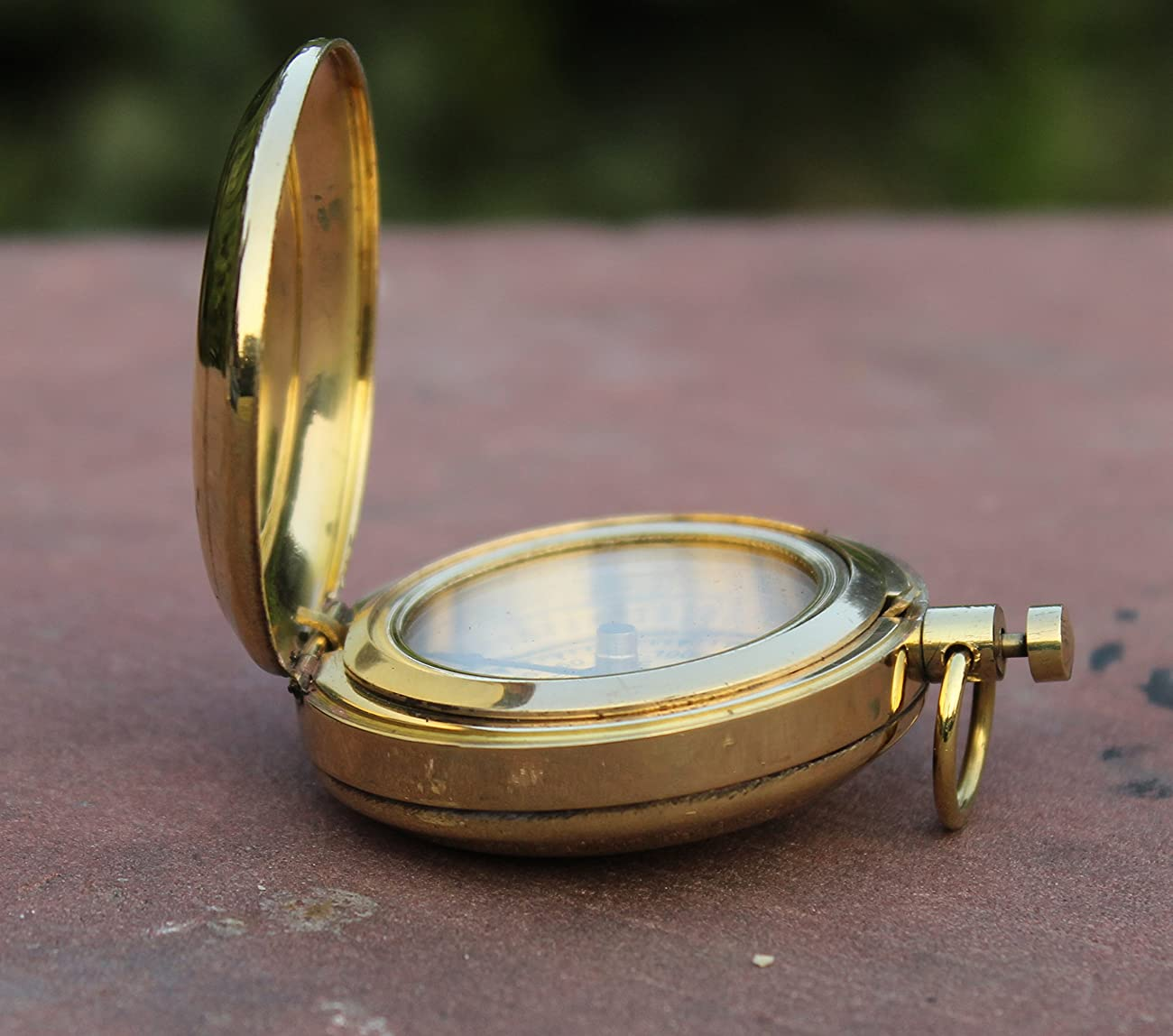 Nautical Collectible Retro Style Compass Decorative Gift Item Brass Finish Compass 3