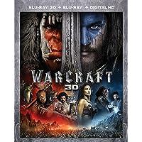 Warcraft on (Blu-ray 3D + Blu-ray + Digital HD)