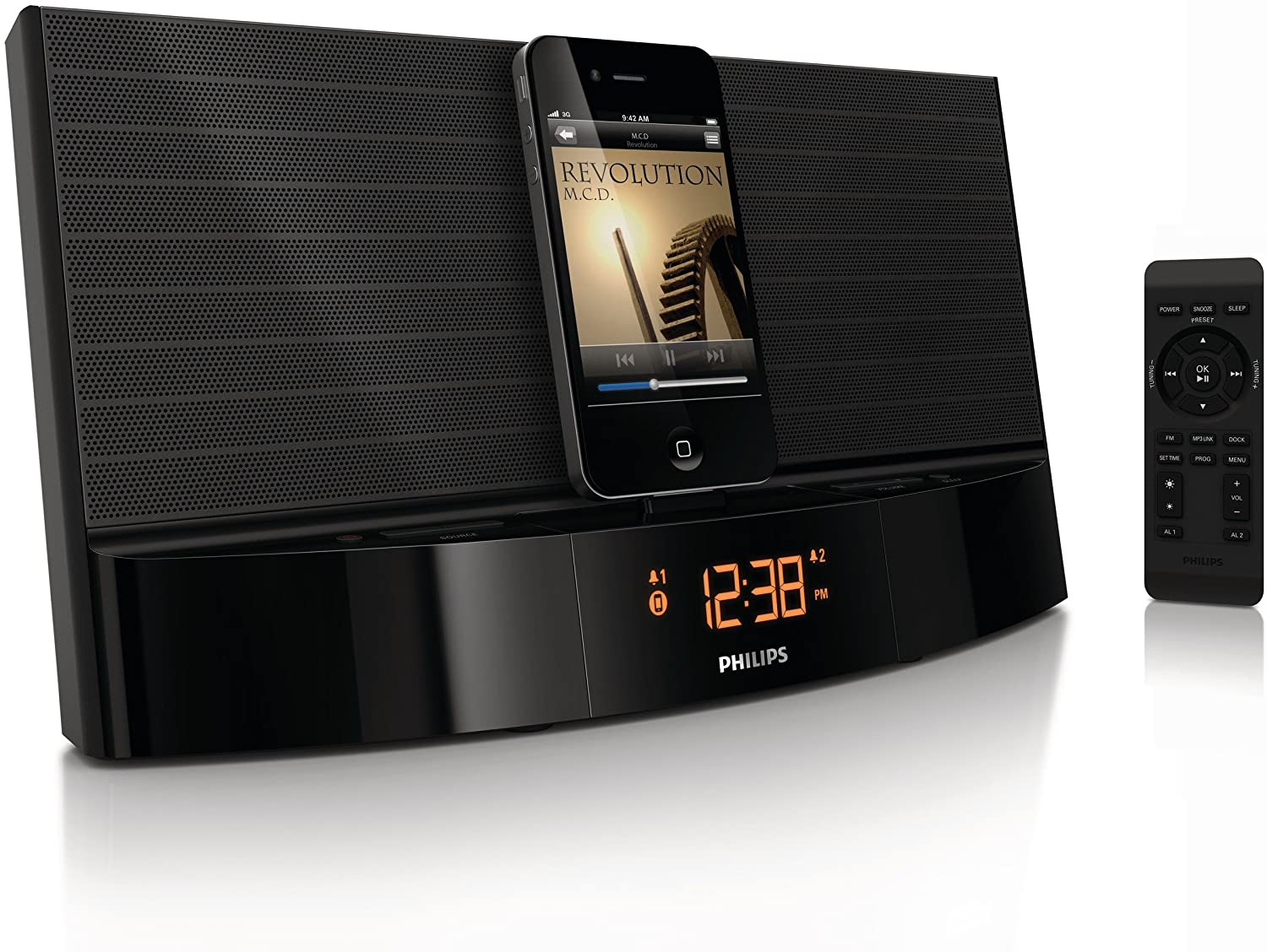 philips aj7034d radio r veil avec station d 39 accueil pour. Black Bedroom Furniture Sets. Home Design Ideas