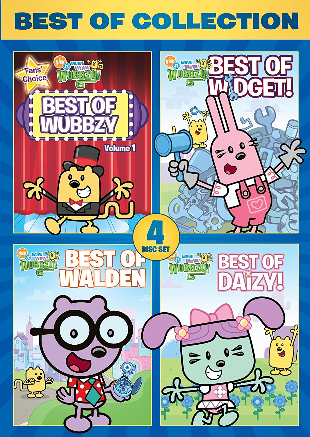 7 Kids And Us: Wow Wow Wubbzy The Best Of....DVD Review