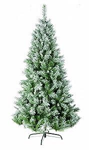 Festive 2.10 m 7 ft Flocked Snow Princess Pine Artificial Christmas Tree       review and more description