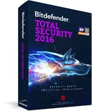 Bitdefender Total Security 2016 Up to 3 PC 1 Year [Online Code]