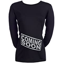 Spoilt Rotten - Coming Soon - 100% Organic Cotton Womens Maternity Top