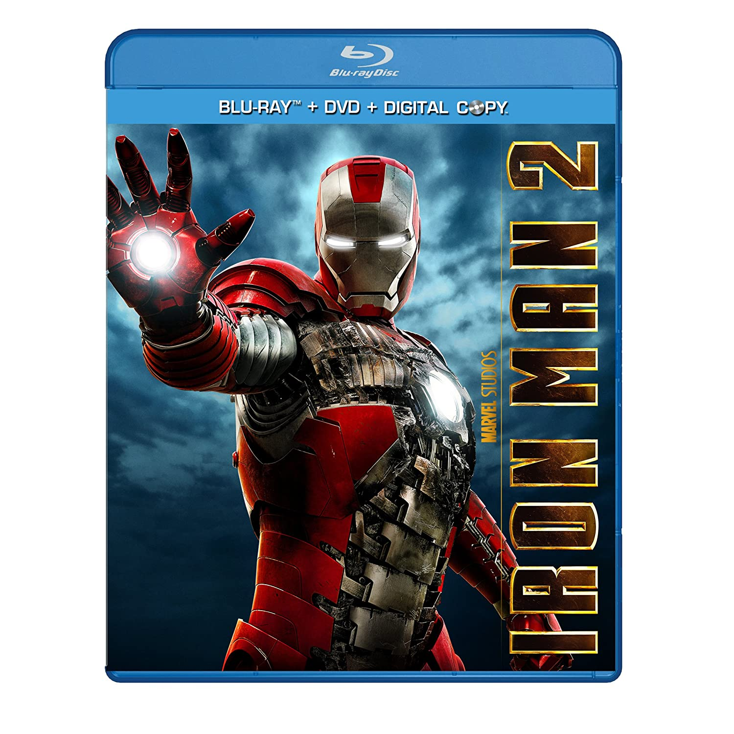 Movie - Iron Man 2 (Three-Disc Blu-ray/DVD Combo + Digital Copy) (2010