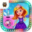Princess Castle Cleanup - Take Care of Messy Palace, Clean the Kitchen, Bedroom and Bathroom, Vacuum Floor, Do Laundry and Play Dress Up by TutoTOONS
