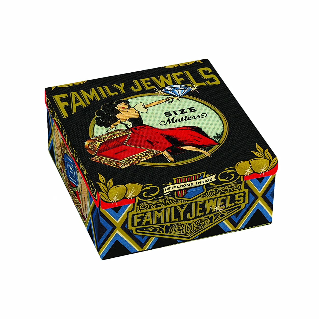 Blue Q Family Jewels Petite Cigar Box 0
