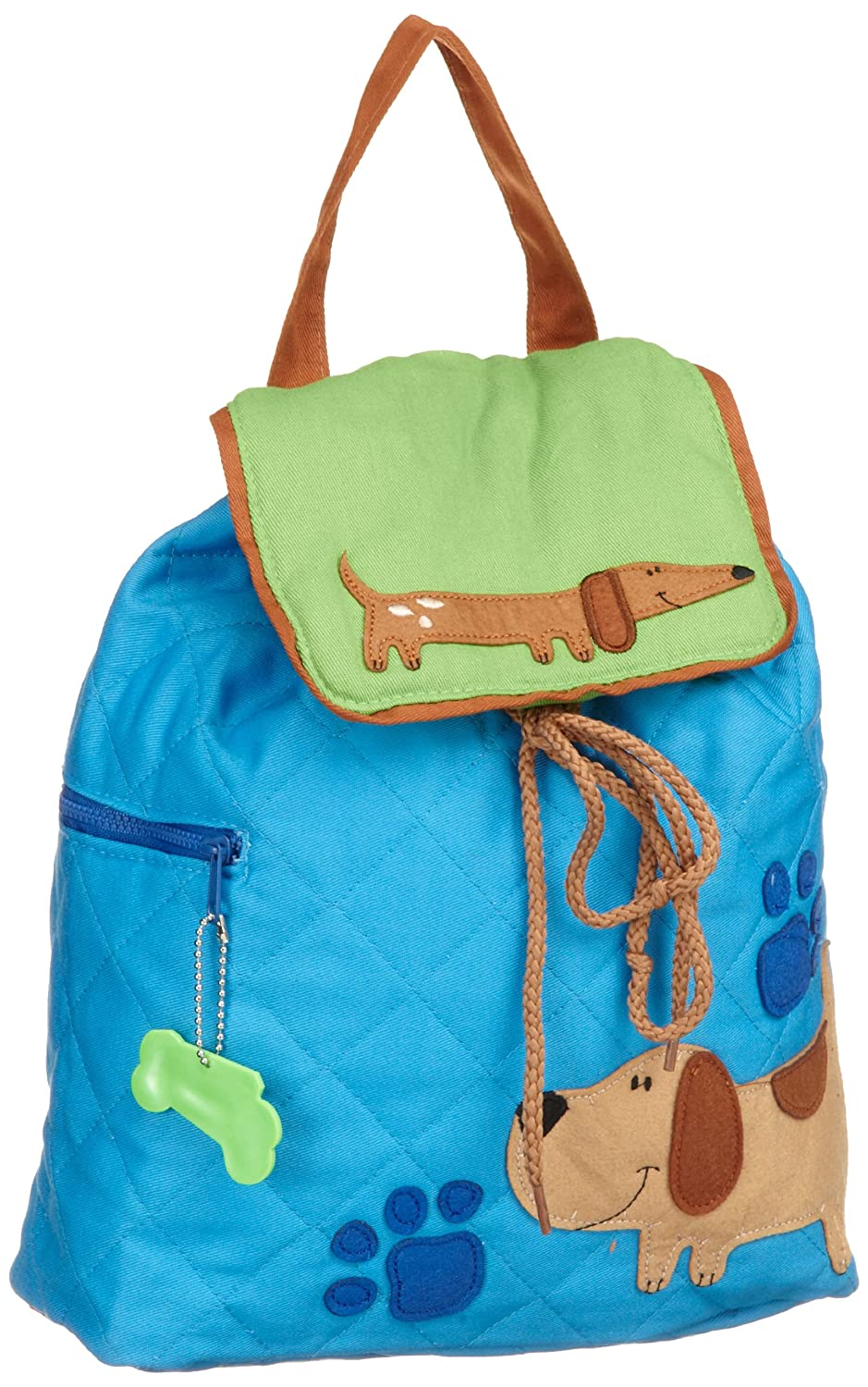 Stephen Joseph Bone Dog Boy's Quilted Backpack