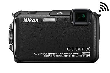 海淘尼康相机:NIKON尼康 COOLPIX AW110 户外三防WIFI数码相机